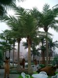 Gu-Кокос-Ладон-Пейзаж искусственной пальмы кокосов напольный или крытый пользы