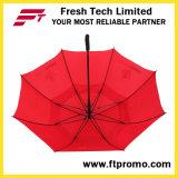 parapluie ouvert de golf de l'automobile 30*8k avec votre logo