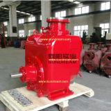 Moteur diesel et pompe à eau centrifuge d'individu d'eaux d'égout électriques d'amoricage