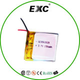 Batterie rechargeable de la batterie 502020 3.7V 150mAh de polymère de lithium