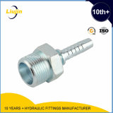 Carbono Steel Jic Hose Fitting, JIS Hose Fitting, Metric Hose Fittings /Metric Hose Couplings por CNC Machine