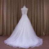 Robe de mariage chaude de vente du plus défunt modèle d'usine d'OEM