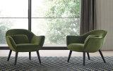 Armrest (FC-010)が付いている現代デザインガラス繊維の余暇の椅子
