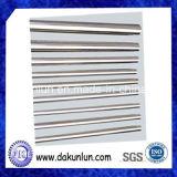 De lineaire Zilverachtige Buis van het Roestvrij staal