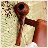 Чёрное дерево сделало относящую к окружающей среде удобную ручной работы куря трубу нося