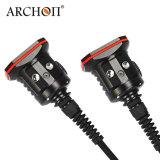 직업적인 수중 잠수 장비 강력한 LED 플래쉬 등 150*2 와트