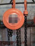Сверхмощный круглый тип таль с цепью 1 тонна