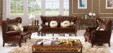 Insieme di cuoio sezionale del sofà dell'ultima di disegno 2016 mobilia del salone
