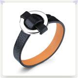 De magnetische Armband van het Leer van Juwelen voor de Manier van Juwelen (LB086)