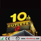 GroßhandelsOutdoor Advertizing Vacuum Coating Acrylic Glowing Channel Letter für Shop