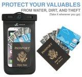Ipx8 Universal imperméable à l'eau anti-poussière sac sac sac pour chaque téléphone cellulaire comprend cordon de brassard gratuit cordon