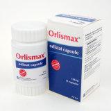 Les capsules de la capsule 120mg 21 d'Orlistat de perte de poids d'Orlismax détruisent le régime de poids