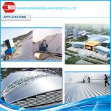 Aluzinc galvanizó el material de material para techos acanalado bobina de acero anticorrosión del aislante de calor