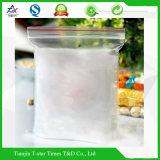 La serratura di plastica della chiusura lampo insacca il sacco a chiusura lampo riutilizzabile della chiusura lampo dell'alimento del sacco