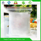 O fechamento plástico do fecho de correr ensaca o saco Ziplock reusável do Ziplock do alimento do saco