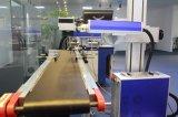 Etiqueta de plástico del laser de la fibra del vuelo para la marca rápida en las botellas plásticas