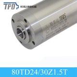 motor del eje de rotación del Atc de la refrigeración por agua de 1.5kw 5.4A ISO20 para el metal