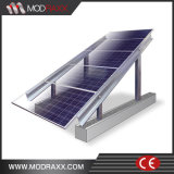 Modules ondulés de picovolte de toit de bidon de Faible-Maintenance montant le système (MD0034)