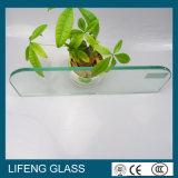 стеклянное 3mm-5mm ясное Toughened/закалило Polished стекло стекла ящика/полки