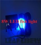 12V Green White LED Underwater Fishing Bait Lure Light Submersible Night Fishing Lamp
