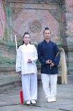 Людей льна Wudang Kongfu Taichi одеяние способа практики утра высокосортных