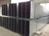O suporte da energia solar usou o perfil de aço galvanizado de C