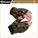 최신 위장 Chepaer Fingerless Airsoft 장갑