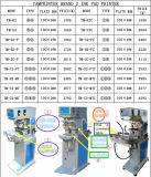 Машина принтера пусковой площадки Carousel печатание криволинейной поверхности 2 цветов (TM-C2-P)