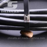 Kurbelgehäuse-Belüftung deckte Edelstahl-Kabelbinder mit Dehnfestigkeit ab
