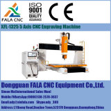 Soluzioni lavoranti aerospaziali dell'alluminio e del titanio di asse Xfl-1325 5 dalla macchina per incidere di CNC della Cina che intaglia macchina