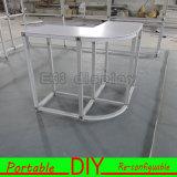 Изготовленный на заказ Recyclable портативный модульный стол приема выставки торговой выставки