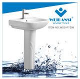 Раковина мытья тазика постамента мытья Weidansi керамическая (WDS-P7208)