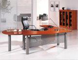 Metallrahmen-hölzerner Tischplattenbüro-Tisch-Executivschreibtisch (SZ-ODT642)