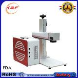 machine d'inscription de laser de la fibre 20With30With50W pour l'acier du carbone