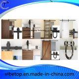 Matériel en U en bois de porte coulissante de grange de fournisseur de la Chine
