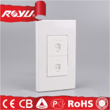 Double Rj 11 2 Core / 4 Core Telephone Tel Socket