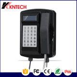 Телефон туннеля Телефон VoIP Телефон Sos Emergency Телефон Knsp-18 ЖК-экран с защитой от атмосферных воздействий IP66