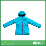 Veste d'hiver en plein air pour les enfants rembourrée Ski