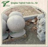손에 의하여 새겨지는 석회석 공 청색 돌 조각품 동상 Stonemasonry