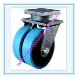 Roue durable sûre de faisceau de fer pour l'échafaudage