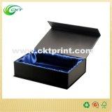 Casella di carta Handmade con la timbratura della stagnola d'argento (CKT-CB-69)