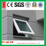 Ventana de aluminio triple del toldo de la doble vidriera con la certificación del Ce