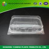 Коробка Clamshell бургера упаковывая, коробка упаковки еды ясности нетоксическая