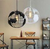 حديثة كرة أرضيّة شكل قهوة متجر قضيب زخرفيّة [لد] [بندنت] مصباح ضوء