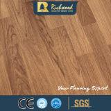 カシ12.3mmのE0寄木細工の床によって薄板にされる木製の木の積層のフロアーリング