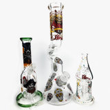 Qualitäts-färbt eindeutige Ölplattformen Matrix Handcrafted Amerika rauchendes Wasser-Glasrohr
