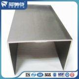 6063-T5 Perfil de extrusión en forma de U de sección grande personalizado de aluminio