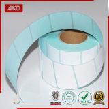 Papel termal de las etiquetas engomadas para el fabricante todo en uno
