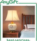 Nueva lámpara de escritorio de cerámica del estilo chino/lámpara de vector para 020 decorativos caseros