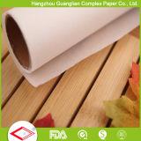 Suministro personalizado de doble cara de silicona papel de hornear papel para el horno de cocina